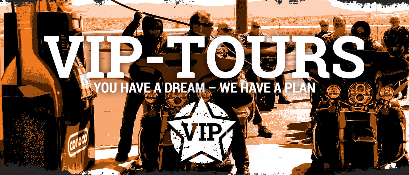VIP MOTORCYCLE AND CAR TOURS